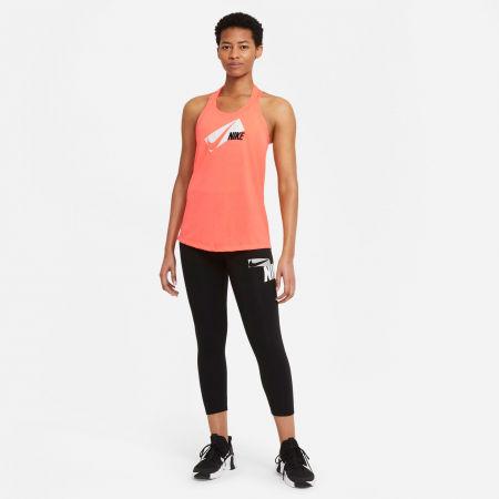 Koszulka treningowa damska - Nike DRI-FIT ELASTIKA - 5