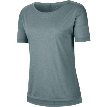 Nike SHORT-SLEEVE YOGA TRAINING TOP - Női póló jógára