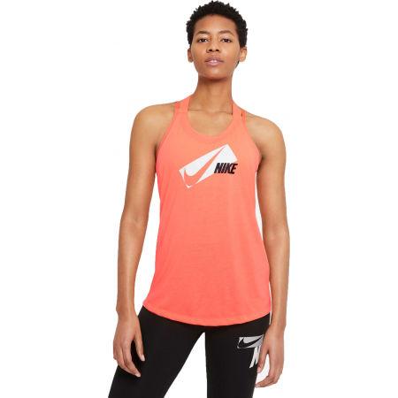 Koszulka treningowa damska - Nike DRI-FIT ELASTIKA - 1