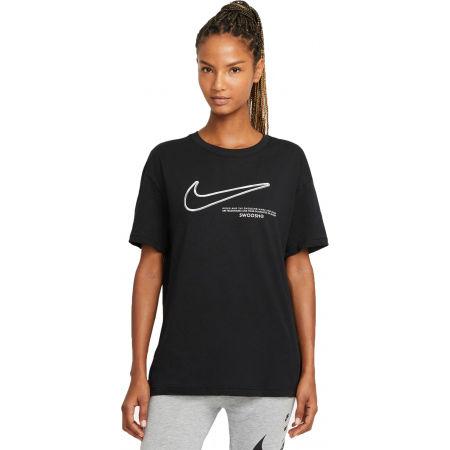 Nike NSW TEE BOY SWOOSH W - Tricou de damă