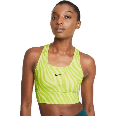 Nike SWOOSH ICONCLASH BRA SP21 NEO - Dámská sportovní podprsenka