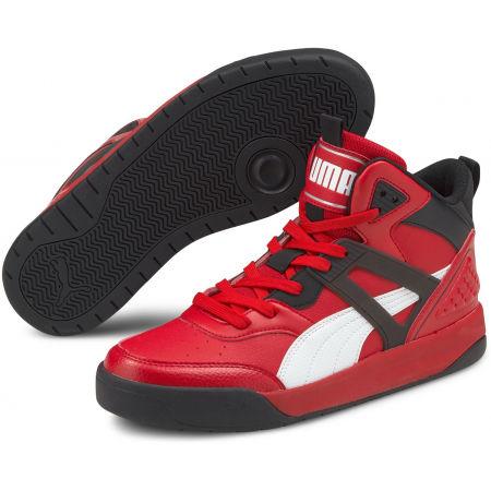 Puma BACKCOURT MID - Pánské volnočasové boty