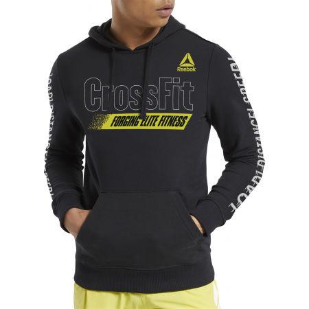 Men's sweatshirt - Reebok RC FEF GRAPHIC HOODIE - 2