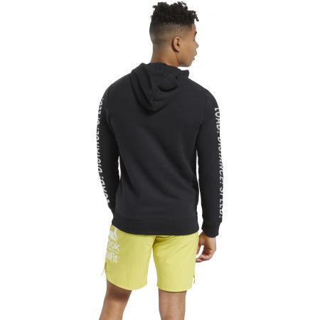 Men's sweatshirt - Reebok RC FEF GRAPHIC HOODIE - 4