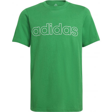 adidas LIN TEE - Tricou de băieți