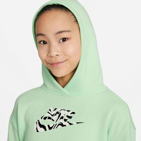 Girls' sweatshirt - Nike NSW CROP HOODIE FILL - 3