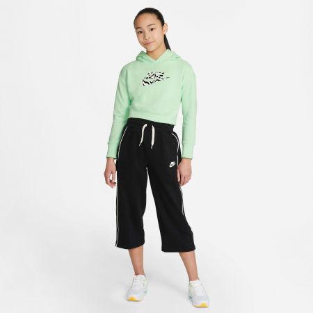 Girls' sweatshirt - Nike NSW CROP HOODIE FILL - 4