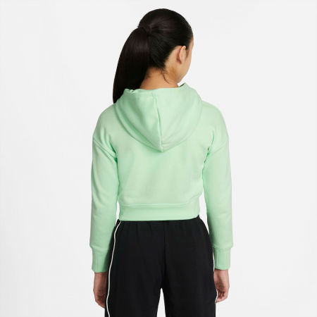 Girls' sweatshirt - Nike NSW CROP HOODIE FILL - 2