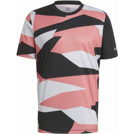 adidas AOP GFX TEE - Pánské outdoorové tričko