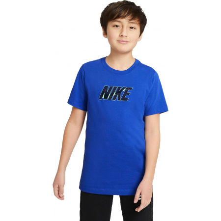 Nike NSW TEE NIKE SWOOSH GLOW B - Boys' T-shirt