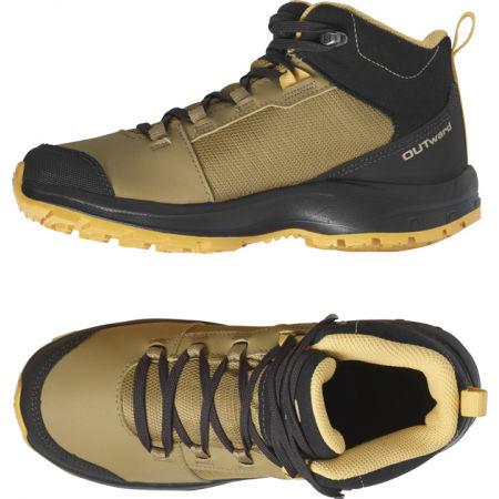 Юношески обувки за туризъм - Salomon OUTWARD CSWP J - 4