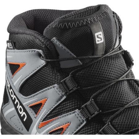 Juniorská outdoorová obuv - Salomon XA PRO 3D MID CSWP J - 3
