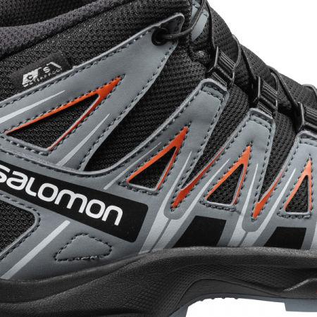 Juniorská outdoorová obuv - Salomon XA PRO 3D MID CSWP J - 4