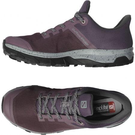 Дамски туристически обувки - Salomon OUTLINE PRISM GTX W - 5