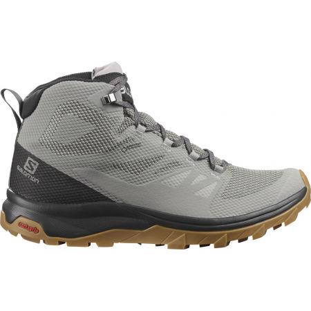 Мъжки  обувки за туризъм - Salomon OUTLINE MID GTX - 2