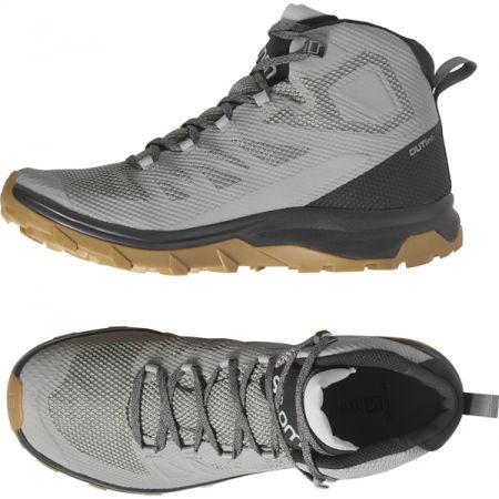 Мъжки  обувки за туризъм - Salomon OUTLINE MID GTX - 5