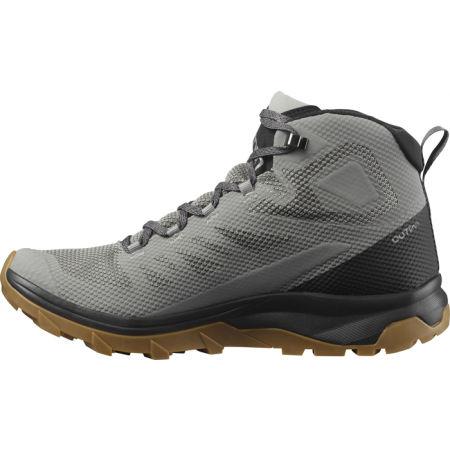 Мъжки  обувки за туризъм - Salomon OUTLINE MID GTX - 4