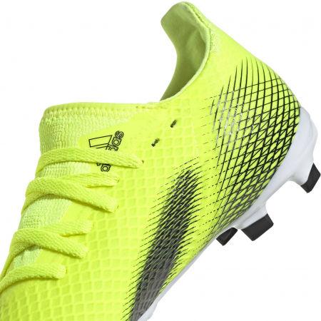 Obuwie piłkarskie dziecięce - adidas X GHOSTED.3 FG J - 7