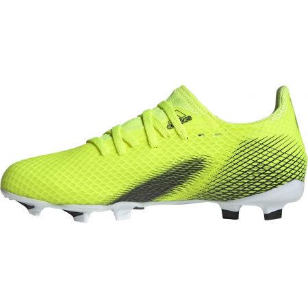 Obuwie piłkarskie dziecięce - adidas X GHOSTED.3 FG J - 3