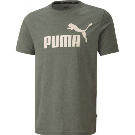 Puma ESS + HEATHER TEE - Men's T-Shirt