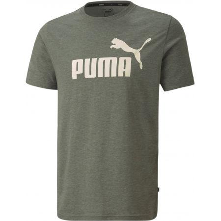 Tricou de bărbați - Puma ESS + HEATHER TEE - 1