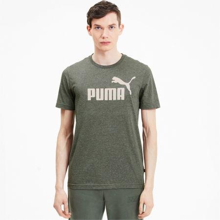 Tricou de bărbați - Puma ESS + HEATHER TEE - 3