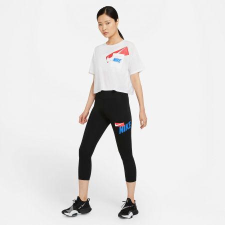 Дамски спортен клин - Nike ONE CROPPED GRAPHIC - 7
