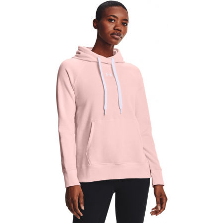 Under Armour RIVAL FLEECE HB HOODIE - Hanorac de damă