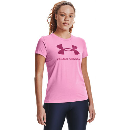Under Armour LIVE SPORTSTYLE GRAPHIC SS - Women's T-shirt