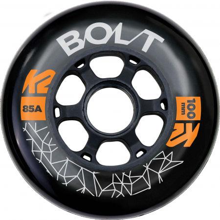 K2 BOLT 100/85A WHEEL 4 PACK BLK