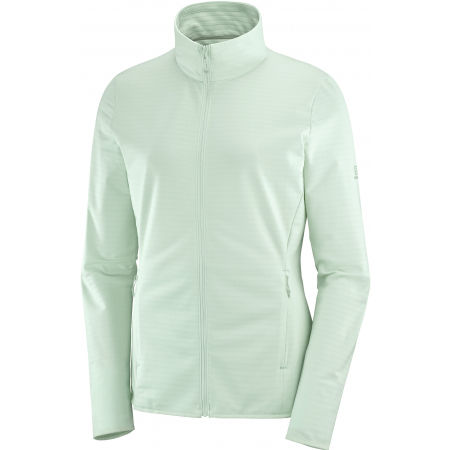 Salomon OUTRACK FULL ZIP MIDLAYER W - Női pulóver