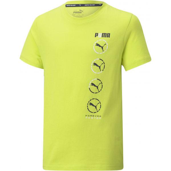 Puma ACTIVE SPORTS GRAPHIC TEE - Detské tričko
