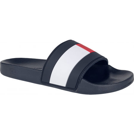 Tommy Hilfiger ESSENTIAL FLAG POOL SLIDE - Șlapi bărbați