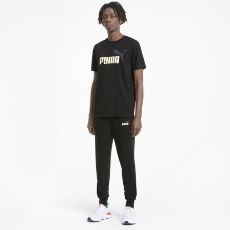Men's T-Shirt - Puma ESS + 2 COL LOGO TEE - 5