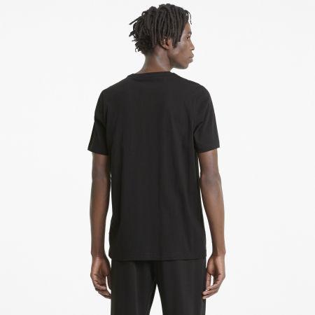 Men's T-Shirt - Puma ESS + 2 COL LOGO TEE - 4