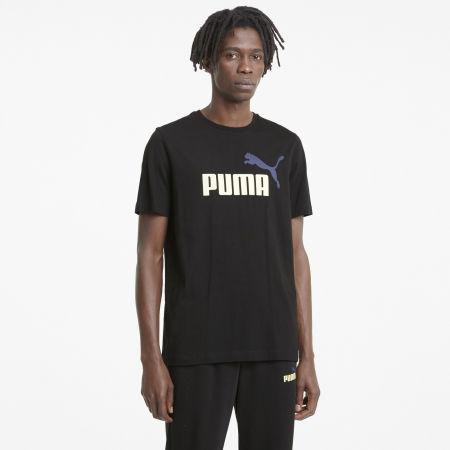 Men's T-Shirt - Puma ESS + 2 COL LOGO TEE - 3