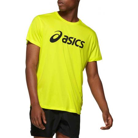 Asics SILVER ASICS TOP - Pánské běžecké triko