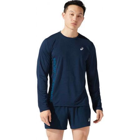 Asics SMSB RUN LS TOP - Tricou de alergare bărbați