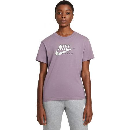 Nike NSW HERITAGE SS TOP HBR W - Tricou damă