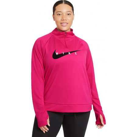 Nike SWOOSH RUN HZ MIDLAYER W - Sport Sweatshirt für Damen