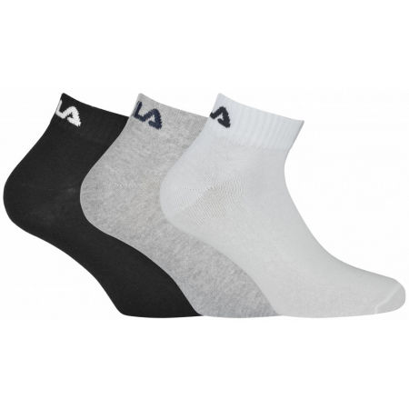 Fila QUARTER PLAIN SOCKS 3P - Șosete