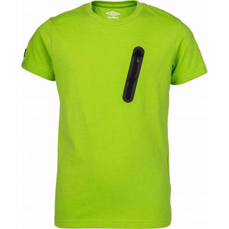 Umbro HARI - Chlapčenské polo tričko s krátkym rukávom