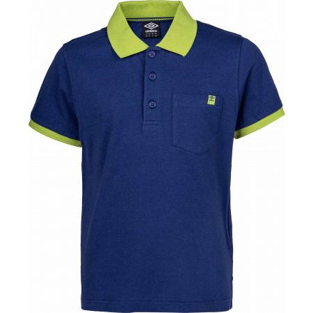 Umbro PERUN - Chlapčenské polo tričko s krátkym rukávom