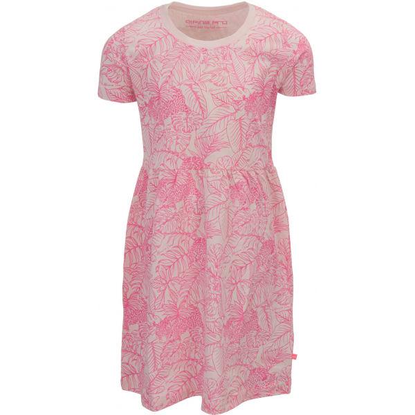 ALPINE PRO MANISHO  128-134 - Dívčí šaty