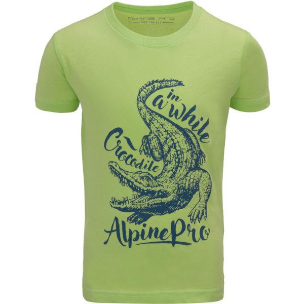 ALPINE PRO SHANTO  128-134 - Chlapecké triko