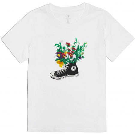Converse FLOWERS ARE BLOOMING TEE - Women's T-shirt