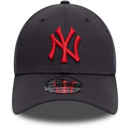 Клубна шапка с козирка - New Era NEW ERA 3930 MLB League essential 39thirty NEYYAN BLK - 3