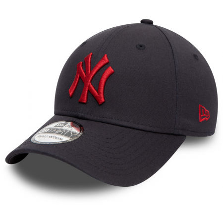 New Era NEW ERA 3930 MLB League essential 39thirty NEYYAN BLK - Klubová šiltovka
