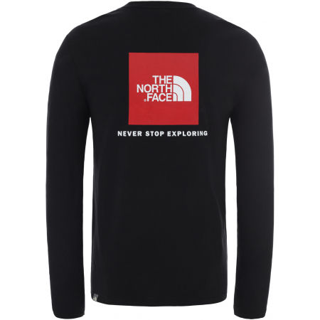 Мъжка блуза с дълъг ръкав - The North Face M L/S RED BOX TEE - EU - 2