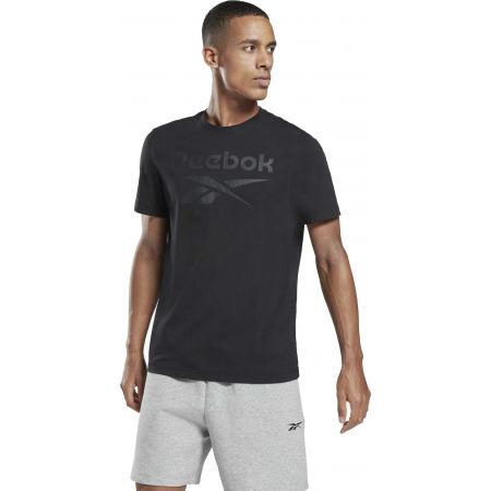 Мъжка тениска - Reebok IDENTITI BIG LOGO TEE - 2